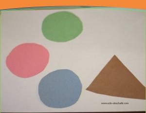 Поделка мороженое из цветной бумаги 50